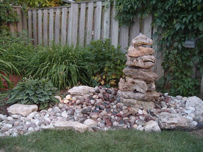 How To Make A Yard Drainage System likewise Ponds moreover Watch together with Retaining Wall Gardens as well Black Eyed Susan Flowers Wild 201190520. on dry river bed garden design